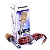 Micro Karaoke Có Dây Sunrise S-318