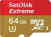 Thẻ nhớ 64GB Micro Extreme SDHC, Read 90MBs SanDisk