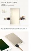 Pin sạc REMAX 6000mAh Superalloy RPP - 30