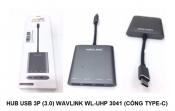 Hub USB 3por (3.0) Wavlink WL-UHP 3041 (CoongrType C)