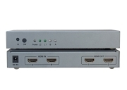 Bộ trộn HDMI 2 vào 2 ra DTECH DT-7422
