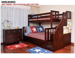 Giường tầng M30  (nâu)
