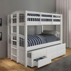 Giường tầng 179 (trắng)