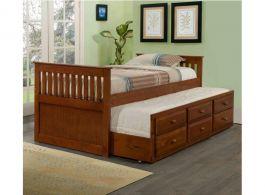 Giường tầng hộp 092 (gỗ)