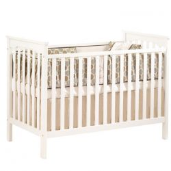 Giường cũi trẻ em D100 (mầu trắng)