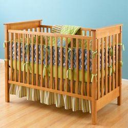 Giường cũi trẻ em faza 02 (mầu nâu)