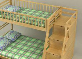 đệm/nệm bông ép giường tầng 1.2mx2mx7cm