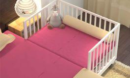 Đệm giường cũi trẻ em