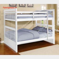 Giường tầng D10 (mầu trắng)