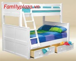 Giường 2 tầng D22 (mầu trắng)