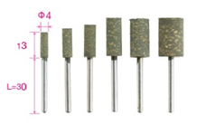 Mounted Points with 3-mm Shank