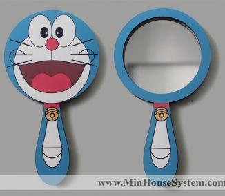 Gương Gỗ Doraemon