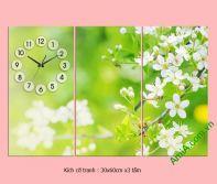 Tranh phòng ngủ đẹp sắc xuân xanh AmiA 302