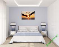 Mẫu tranh treo phòng ngủ đẹp và lãng mạn AmiA329