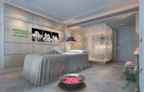 Tranh tường đẹp trang trí spa hoa đá AmiA 553