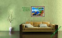 TSD 170 - Tranh phong cảnh ven biển vẽ sơn dầu
