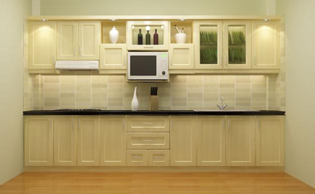 Mẫu tủ bếp gỗ sồi Nga - Thanhnamhome-01