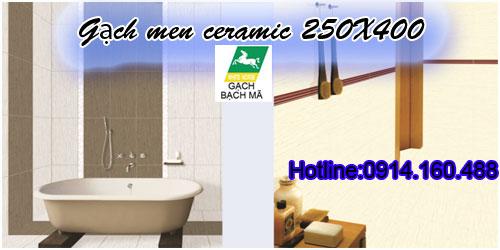 gạch men ceramic BẠCH MÃ ốp tường 25x40 giá rẻ 0914160488