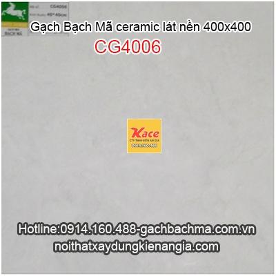 Gạch men Bạch Mã lát nền 40x40 CG4006