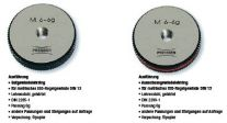 Thiết bị kiểm tra ren vòng - Go/NoGo Thread ring gauge M5x0.8 (0658512)