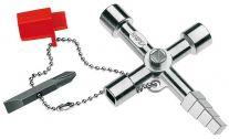 Chìa vặn khóa tủ điện Knipex - 00 11 04