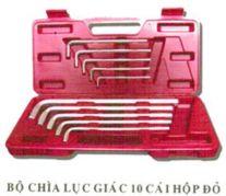 Bộ chìa lục giác họp đỏ YTB (10 cái)