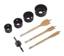 Bộ dụng cụ gồm đầu khoét lỗ và đầu khoan Sealey AK4742M