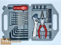 Bộ KIT dụng cụ sửa chữa 29pcs, hộp nhựa C005