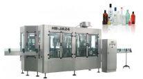 Dây chuyền rửa chiết rót đóng nắp chai rượu tự động HB-JA24