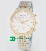 Đồng hồ TISSOT 1853 - T063617A - Dây kim loại mạ vàng hồng