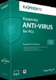 Phần mềm diệt virut Kaspersky Antivirus 2015 (1PC/12T)
