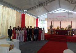 Lễ động thổ Dự án IDB Viet Nam Complex