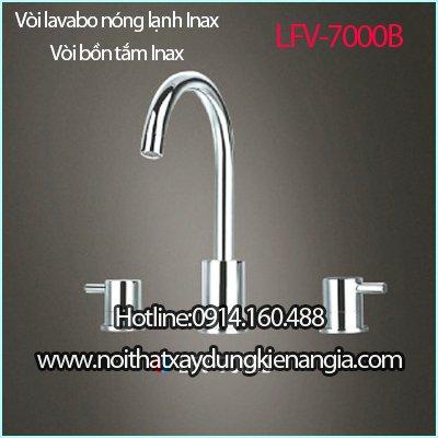 Vòi 3 lỗ lavabo âm bàn,vòi bồn tắm INAX LFV-7000B