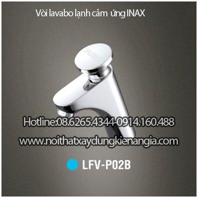Vòi lavabo tự ngắt  INAX LFV-P02B