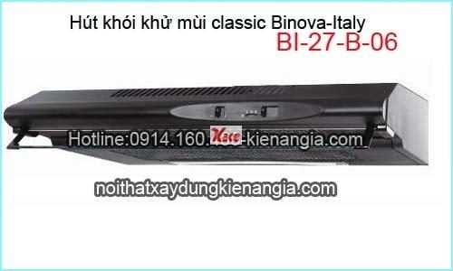 Hút khói khử mùi Classic Binova BI-27-B-06