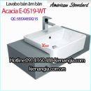 Lavabo bán âm bàn American Acacia E-0519-WT