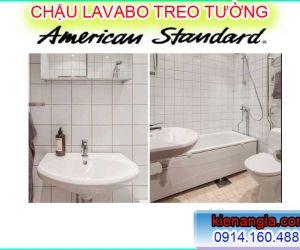 CHẬU LAVABO TREO TƯỜNG AMERICAN STANDARD CHÍNH HÃNG