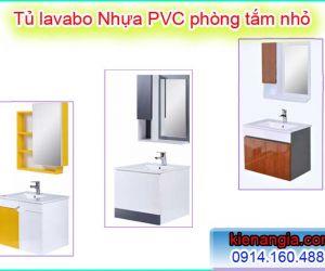TỦ LAVABO NHỎ ĐẸP BẰNG NHỰA PVC CHỊU NƯỚC