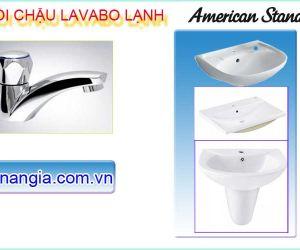 VÒI LAVABO LẠNH AMERICAN STANDARD CHÍNH HÃNG CHIẾT KHẤU CAO