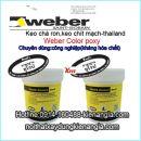 Keo chà ron Thái Lan Weber-color-poxy