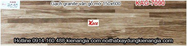 Gạch vân gỗ 150x600 KAG-7090