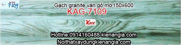 Gạch granite vân gỗ mờ 150x600 KAG-7109