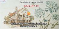 Gạch trang trí phòng khách ,WC 30X60 KAG-Z2119