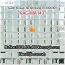 Gạch mosaic hồ bơi kim cương 30x30 KAG-MA143