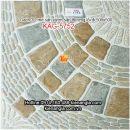 Gạch 3D mờ sân vườn 500x500 KAG-5752
