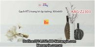 Gạch KTS trang trí ốp tường 300x600 KAG-Z2303