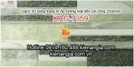 Gạch 3D ốp cột mặt tiền 250x500 KAG-7359
