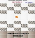Gạch men bóng ốp tường phòng karaoke 30x60 Bộ KAG-B330-4