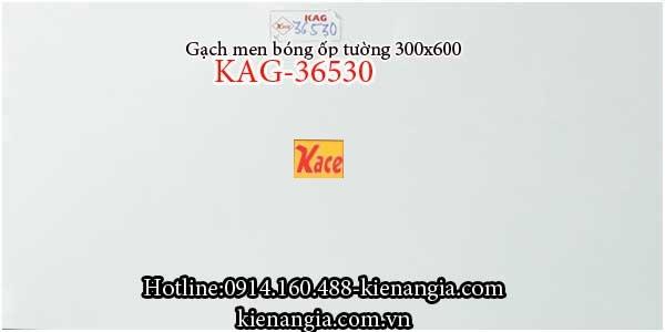 Gạch men bóng ốp tường 30x60 KAG-36530