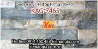 Gạch 3D bóng trang trí ốp tường 200x400 KAG-7465